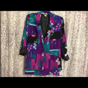 Multi colored jacket by Willow Ridge - Size M